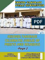 Sekondi Takoradi Diocesan Newsletter [July - August 2019]