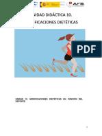 Manual Ud 10. Modificaciones Dietéticas en El Deporte