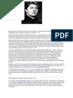 Assignment in Music 10 Expressionist Composer Alban Berg (Jenie Dela Victoria )