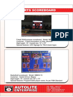 Autolite scoreboard catalog