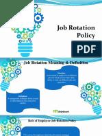 Job Rotation Policy