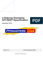 E-Sabong API REST Integration-Draft