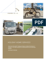 Holiday Home Waste Collection Promo 2