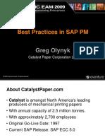 SAP PM Best Practice