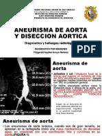 ANEURISMA DE AORTA Y DISECCION AORTICA.pptx