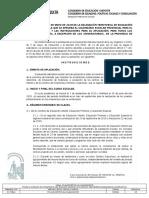 Granada Resolución Calendario Escolar 2019 2020
