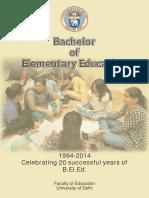 Bachelor of Elementary Education