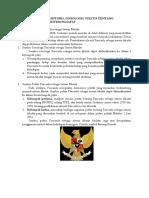 Sumber Historis, Sosiologis, Politis Pancasila Sebagai Sistem Filsafat