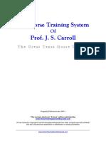Carrolls Horse Training System