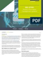IT Governance ISO27701 Aug 19