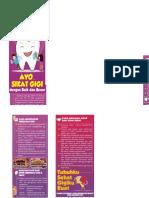Leaflet Kesehatan Gigi Dan Mulut