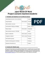 world of work  proj