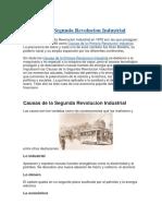 Causas de la Segunda Revolucion Industrial.docx