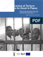 Ajar Elsham Tapol Penyiksaan Di Papua 2015 English
