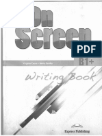 Express Publishing.  On screen writing B1+