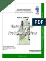 Ince - Elaboracion de Productos Lacteos 1-2