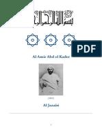 El-Amir Abdelkader - Kitab Al-Mawaqif