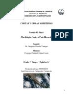 La Morfología Costera Posthuracán Como Indicador de La Intensidad de La Amenaza Por Huracanes