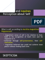 Augustine and Aquinas