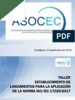 6-Taller Establecimiento de Lineamientos Para La Aplicacion de La Norma-fidel Fernandez