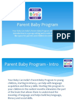 Your Baby Can Parent Baby Program at Bangalore