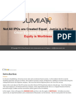 Not All IPOs Are Created Equal Jumia is a Fraud