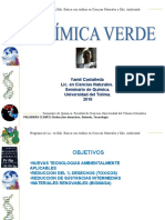 quimica verde (Sintesis, Objetivos)