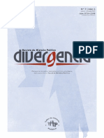 Revista Divergencia Agosto Diciembre 2016