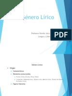 El Genero Lirico (1)