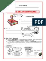 El Uso Del Diccionario