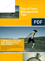 Top 10 time tips