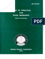IRC 35 - 2015 Code of Practice for Road Markings (R2)