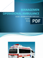 Managemen Operasional Ambulance