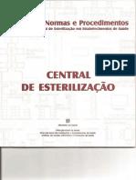 Manual de Normas e Procedimentos Esterilização