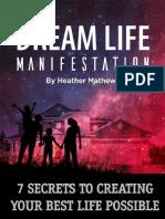 Dream Life Manifestation PDF