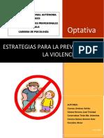 Antología Estrategias Para La Prevención de La Violencia Escolar Junio 2018