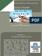 Non Voice BPO -  Computer Fundamentals