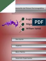 PINTURA FERROMAGNETICA