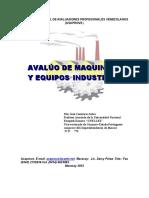 Manual Avaluos Maquinarias Y Equipos