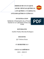 Analisis Clinico I