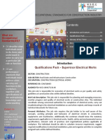 QP - Supervisor Electrical Works
