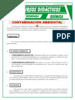 Contaminacion Ambiental Para Tercero de Secundaria