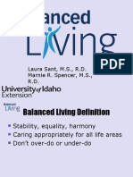 Living a More Balanced Life.ppt