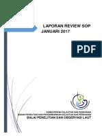 Laporan Review SOP Januari 2017