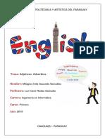 Inglés - Adjetivos y Adverbios