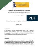 2012 Monitoreando Los Impactos de Los TLCs