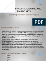 Performing Arts, Graphic and Plastic Arts
