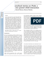 kucirkova (2013) Sharing personalised stories on iPads. a close look at one parent–child interaction.pdf