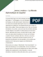 «Chinos Buenos y Malos» - Le Monde Diplomatique en Español