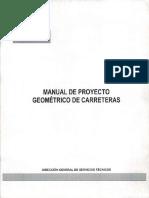 MANUAL DE PROYECTO GEOMETRICO LIBRO NEGRO